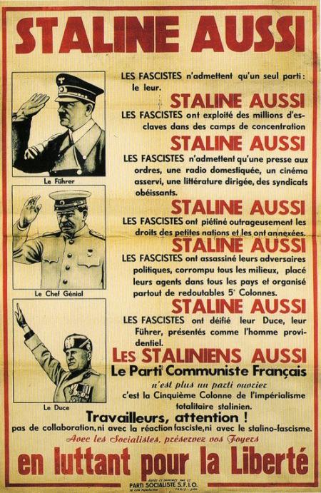staline_et_socialistes_SFIO_1951